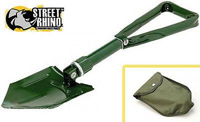 Rover Streetwise Universal Foldable Metal Shovel Snow Ice Emergencies