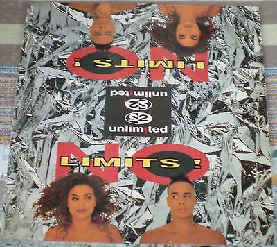 2 Unlimited ‎– No Limits! 1st PRESS GREEK LP