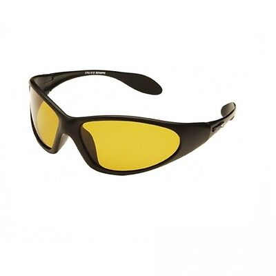 Eyelevel Sunglasses NEW Fishing Mens Sprinter Yellow Polarised +Microfibre Pouch
