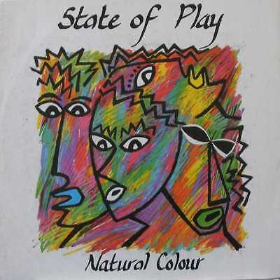 """STATE OF PLAY UK 1986 12"""" Single NATURAL COLOUR"""