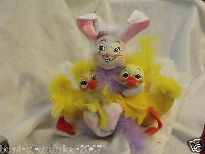 """Annalee Bunch of Bunny Hugs, #150306 Smile Face, 10"""", 2006, NWT"""