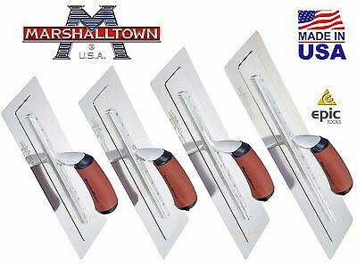 "NEW MARSHALLTOWN Plastering PERMAFLEX Stainless Steel Finishing Trowel 13"" - 18"""