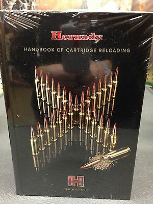 Hornady Handbook of Cartridge Reloading NEW Manual 10th EDITION---Worldwide ship