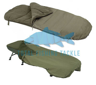 Trakker NEW Carp Fishing Big Snooze + Sleeping Bag & Thermal Cover Square End