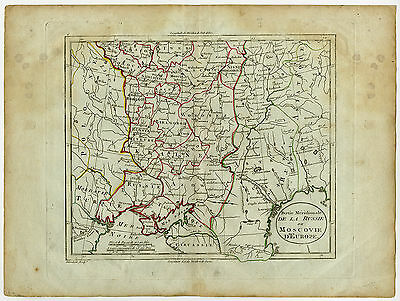 Antique Map-RUSSIA-EUROPE-UKRAINE-Blondeau-1800