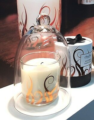 Ashleigh & Burwood Regular Mouth Blown Glass Cloche Bell Jar Candle Display Dome
