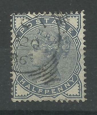 1883/4 Sg 187, 1/2d Blue, Fine used.