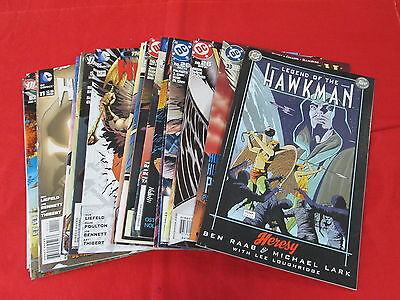 Backstock Blowout - Hawkman/hawkgirl Lot Of 25 Comics No Repeats Huge Discount