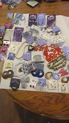Large lot of assorted Jewelry Earrings necklace Claire's Icing other NWT (P65)