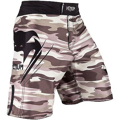 Venum Wave Camo Fight Shorts - Brown - MMA & Grappling Gym Wear