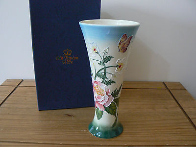 Old Tupton Ware Trumpet Shaped  ENGLISH GARDEN Vase - New & Boxed