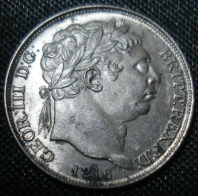 Excellent 1816 George Iii Sixpence Sharp Detail About Uncirculated Spink 3791
