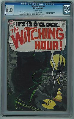 Witching Hour #1 Cgc 6.0 Toth Art Neal Adams Art Off-White Pages 1969
