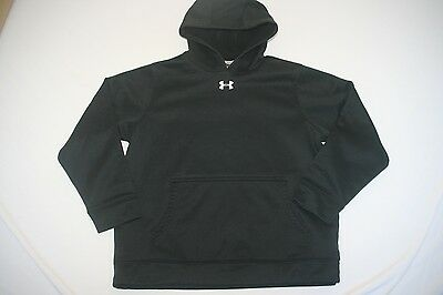 Under Armour Hoody Sweatshirt Cold Gear Youth M Black