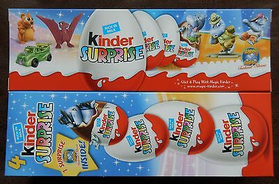 4er PACK HAPPY HIPPO TALENT SHOW Ü-EI KINDER ÜBERRASCHUNG NEU FIGUR