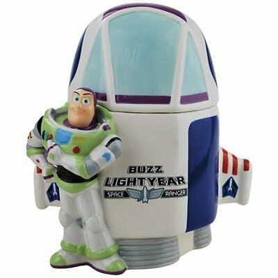 Toy Story Buzz Lightyear Spaceship Ceramic Cookie Jar by Westland Giftware