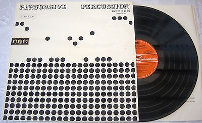 Terry Snyder And The All Stars ‎– Persuasive Percussion lp