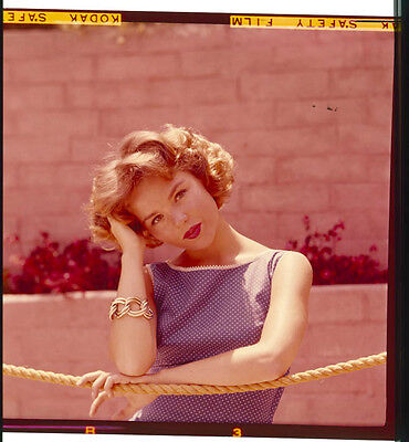 Tuesday Weld Rare Lovely  Original 2.25 X 2.25 Color Slide Transparency & Photo