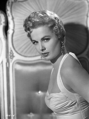 Martha Hyer Glamour Portrait Photo Original Studio 8X10 Inch B/w Negative