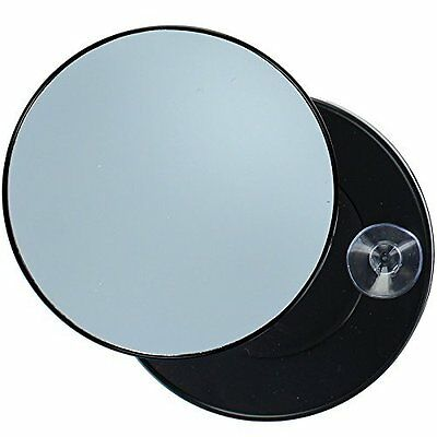 Pretty 10x Enlargement Magnifying Mirror With 2 Suction Cups