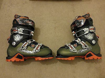 Salomon Quest Pro Pebax Alpine ski touring boots 2012 size Mondo 26.5 (41/7.5UK)