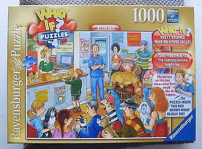 * What If?~At The Vets~Ravensburger Jigsaw Puzzle~1000 Pieces.*