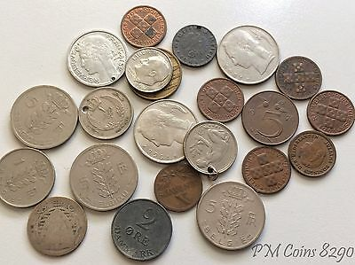 Group of mostly European coins [8290]