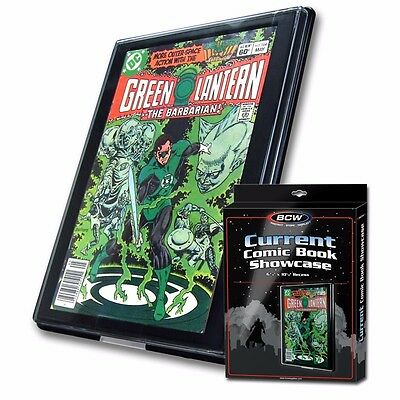 """CURRENT AGE Comic Book Showcase Display Case Frame 6.75"""" x 10.25"""" BCW NEW"""