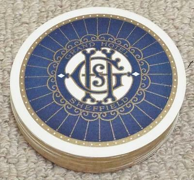 Grand Hotel - Sheffield - Vintage 1930's Pack of Circular Playing Cards