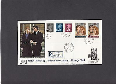 1986 Royal Wedding Havering FDC House of Commons CDS. 1 of 10 covers