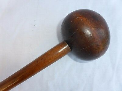 Antique African Zulu Knobkerry Knobkerrie Large Tribal Club