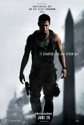 White House Down - original DS movie poster - D/S 27x40 Channing Tatum Adv