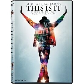 Michael Jacksons This Is It DVD - Brand new!