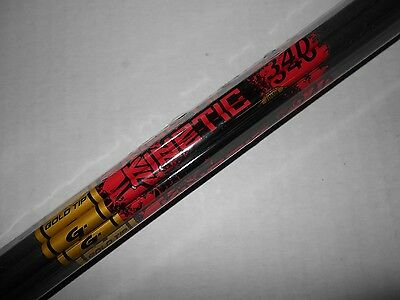 @NEW@ 12-Gold Tip Kinetic 340 9.9 gpi Carbon Arrow Shafts! CUT TO LENGTH!