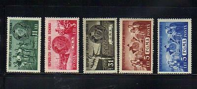 Romania 5 MLH stamps