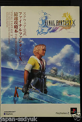 JAPAN Final Fantasy X The First Guide Book For Beginners