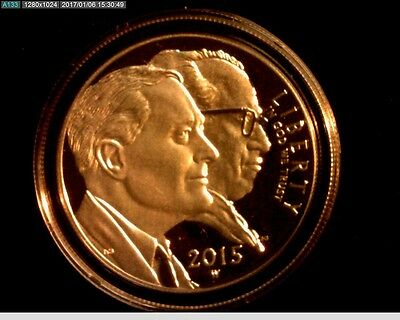 2015 W Proof March Of Dimes Silver Dollar, In Capsule