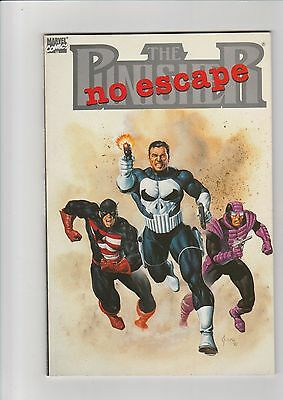 The Punisher  No escape nn VF+  1990 Marvel  TPB