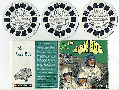 Walt Disney Herbie The Love Bug 1968 View-Master Packet B-501-E English edition