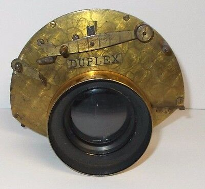 Antique 1880`s-90`s Prosch Duplex Camera Lens