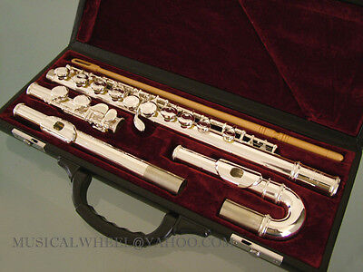 Silver Plated FLUTE - Curved & Straight  Headjoints NEW