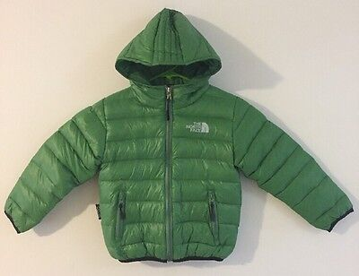 GIRLS THE NORTH FACE Summit Series Microlight Coat Youth Size S Small Green NWOT