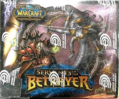 World of Warcraft ~ SERVANTS of the BETRAYER Sealed 24 pack BOOSTER BOX WoW TCG