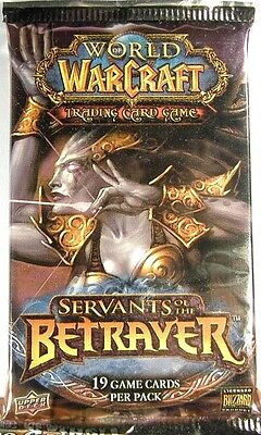 World of Warcraft ~ SERVANTS of the BETRAYER Sealed BOOSTER PACK WoW TCG