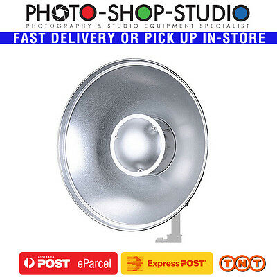 Fotolux Beauty Dish 41cm Silver with Bowens Mount #BD42BOW-SV