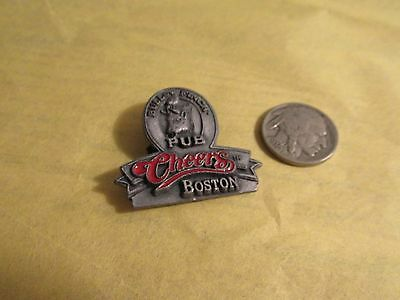 Bull & Finch Pub Cheers Boston Hat Pin, 1997,TS & J.very good.