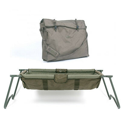 Nash Tackle NEW KNX Cradle Fishing Carp Care Elevated Mat + Cradle Carry Bag