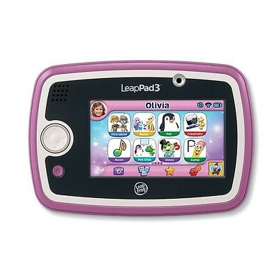 LeapFrog - LeapPad3Learning Tablet Pink English Edition