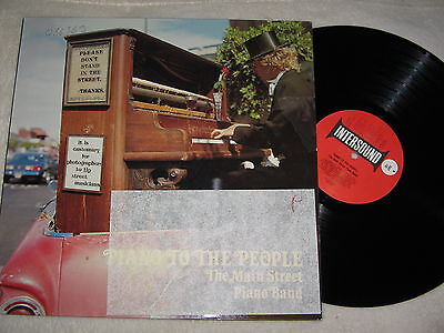 LP: The Main Street Piano Band (= Horst Jankowski) - Piano to the people, 1,--