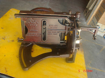 Vintage Antique 1917 Foley Saw Filer Saw Sharpening Machine Metal Tool